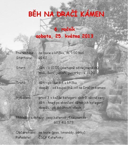 Běh na Dračí kámen 2013